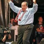 Jeus Gil y Gil, voorzitter van Atletico Madrid