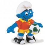 Sneijder de voetbal smurf