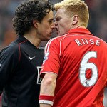Riise bijt Hargreaves