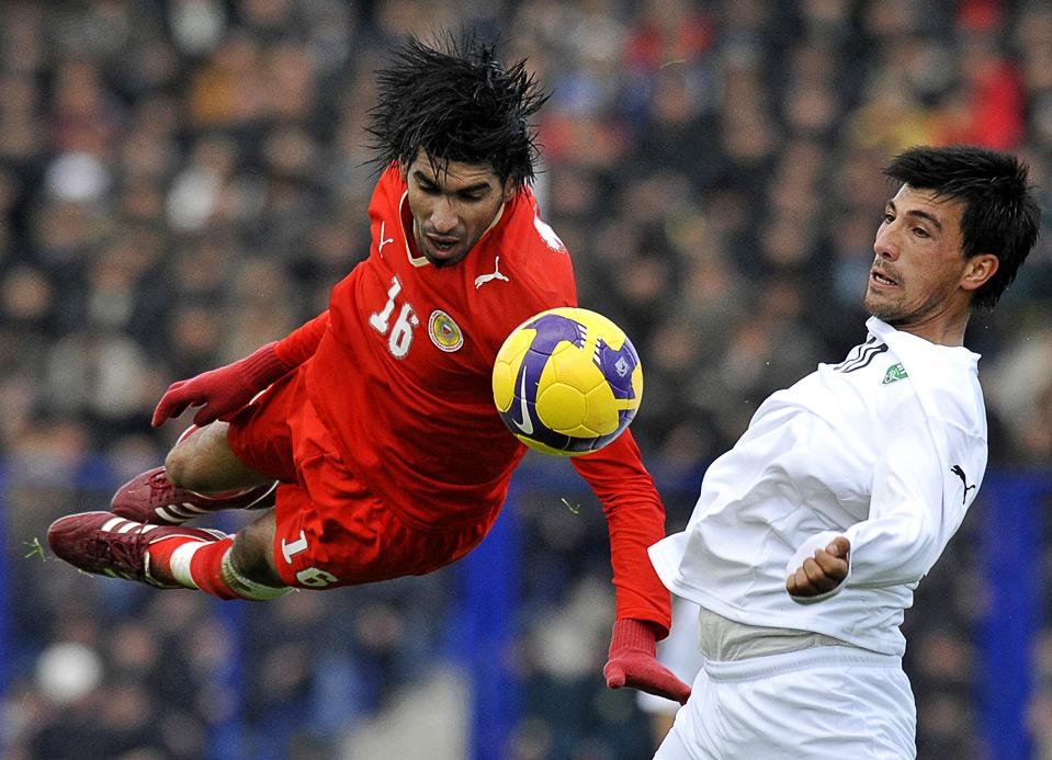 Farhod Tadjiev in duel met Sayed Mohamed Adnan