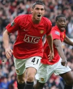 kiko macheda van Manchester United