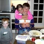 Andrei met Yulia en Artyom