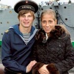 Andrei en Yulia op weg naar Engeland