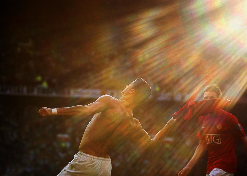 Cristiano Ronaldo, de engel