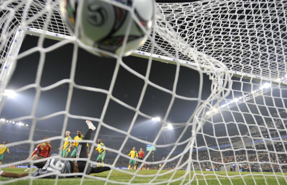 Torres goal tegen Zuid Afrika