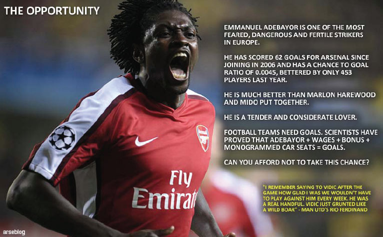 adebayor brochure