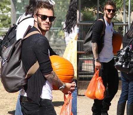 Beckham viert Halloween
