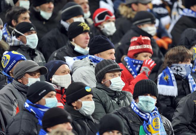 Mexicaanse griep in Kiev