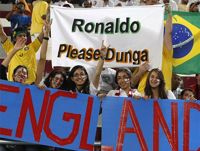 fans vragen om Ronaldo