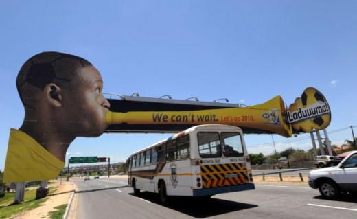 Zuid Afrikaanse reclame voor WK