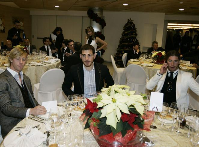 Kerstdiner Real Madrid