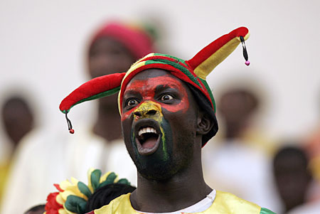 Africa Cup supporter