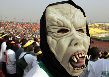 Egyptische supporter