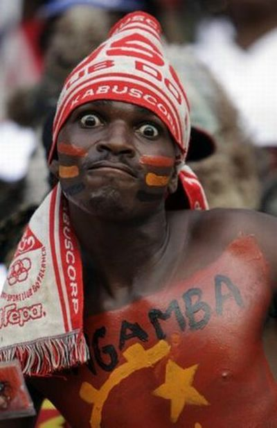 Gambia supporter Africa Cup