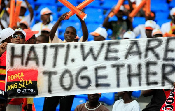 Haiti, we are together