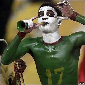 Kameroen supporter