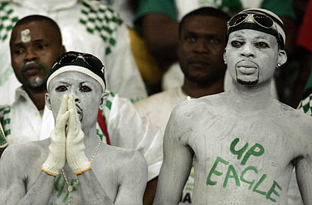 Nigeria supporters