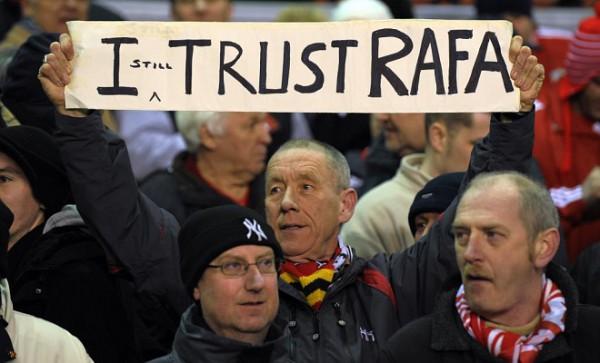 vertrouwen in Rafael Benitez
