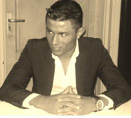 Lookalike van Cristiano Ronaldo