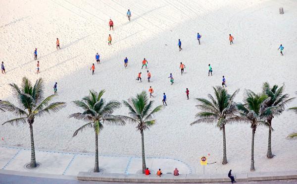 Strand voetballers