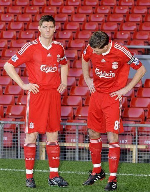 Steven Gerrard lookalike