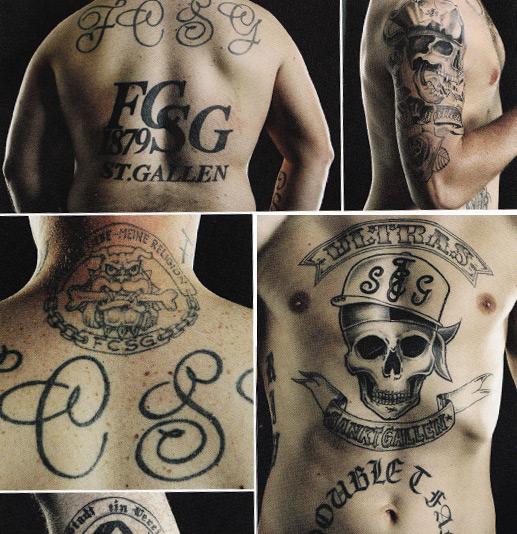 FC Sankt Gallen tattoo