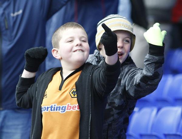 Wolverhampton Wolves fans