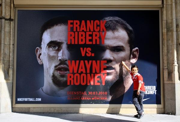 Rooney en Ribery