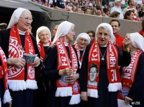 Bayern Munchen nonnen