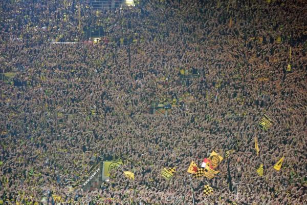 Die Gelbe Wand, De Gele Muur van Borussia Dortmund