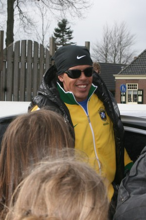 Lookalike van Ronaldinho