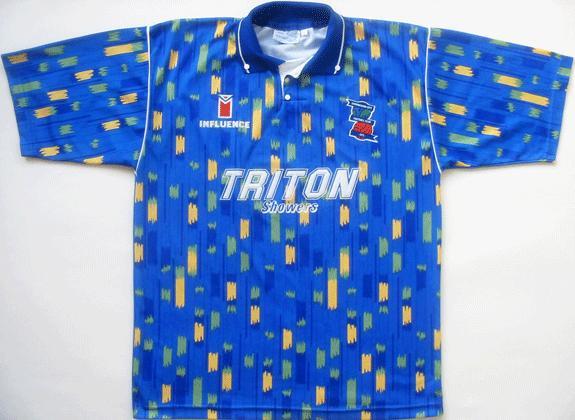 Birmingham City shirt 1992/1993