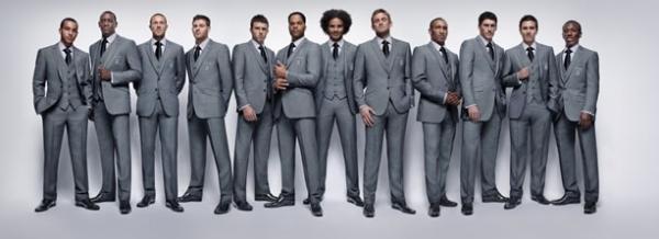 Het Engels WK pak