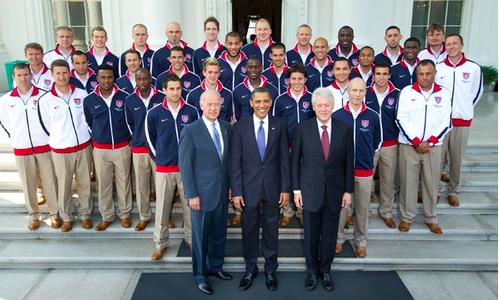 De kostuums van Team USA
