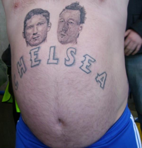 Terry en Lampard tattoo