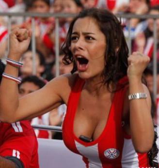 Larissa Riquelme uit Paraguay