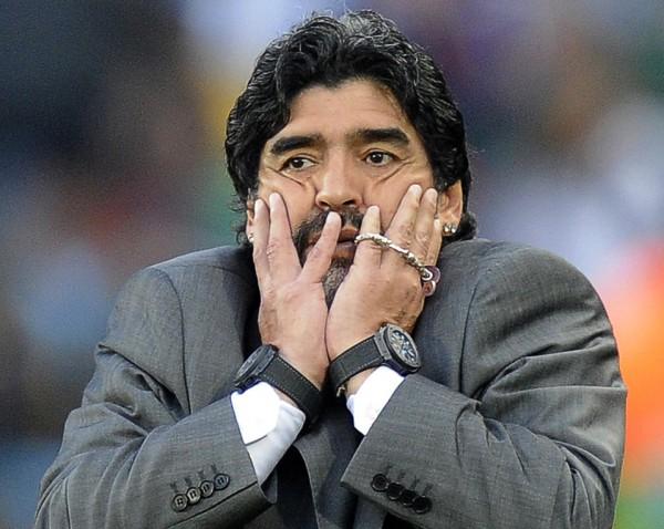maradona twee horloges