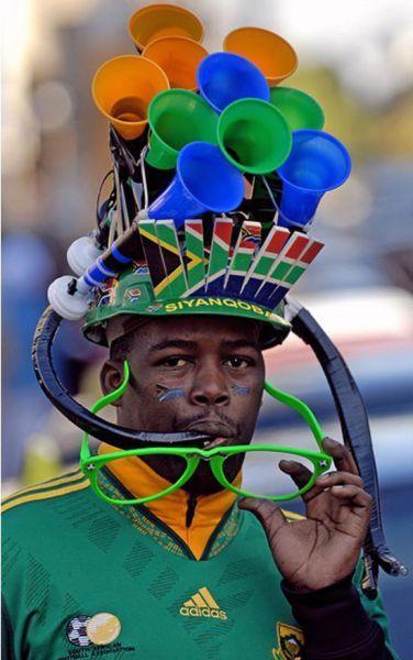 Vuvuzela hoed