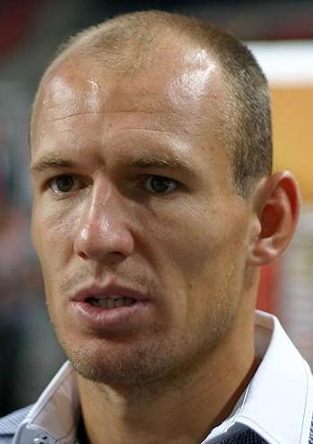 Arjen Robben lookalike