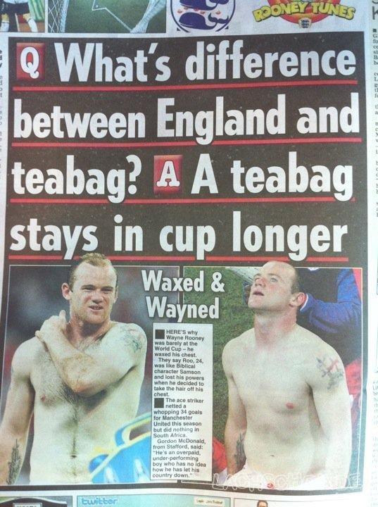 England joke
