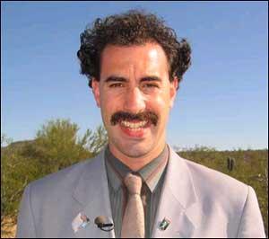 Domenech Borat lookalike