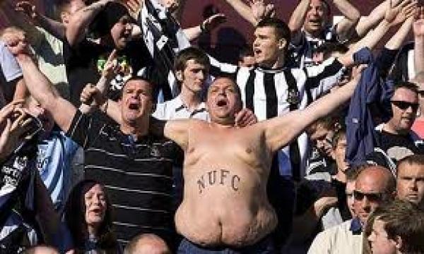 Fat Newcastle United fan