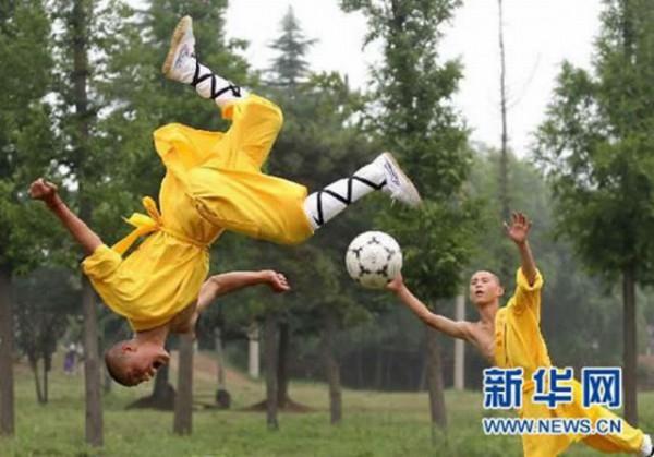 Shaolin voetbal