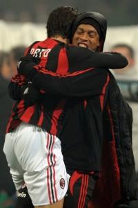 Ronaldinho en Pato