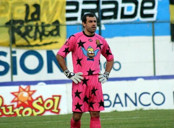 Pablo Aurrecochea in SImpson shirt