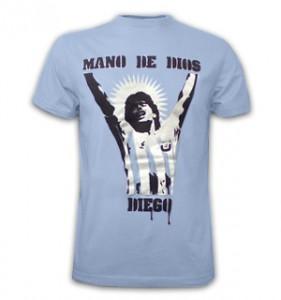 Mano de Dios Maradona shirt