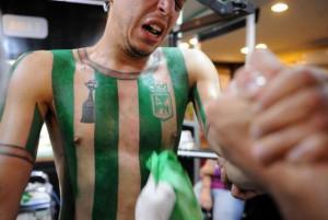 Felipe Alvarez tattoo Atletico Nacional