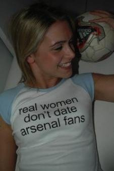 real women dont date arsenal fans2
