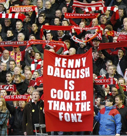 Dalglish is cooler dan the Fonz