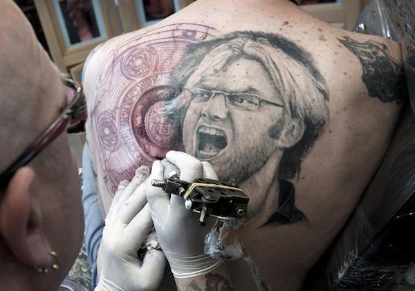 Jurgen Klopp tattoo